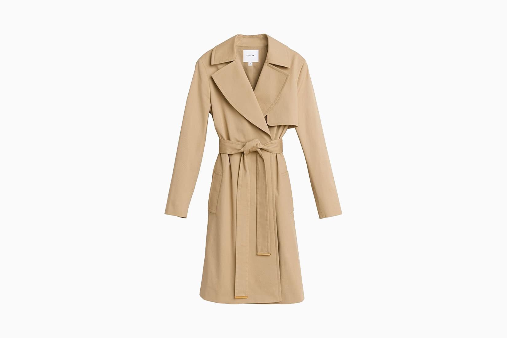 best women trench coat cuyana - Luxe Digital