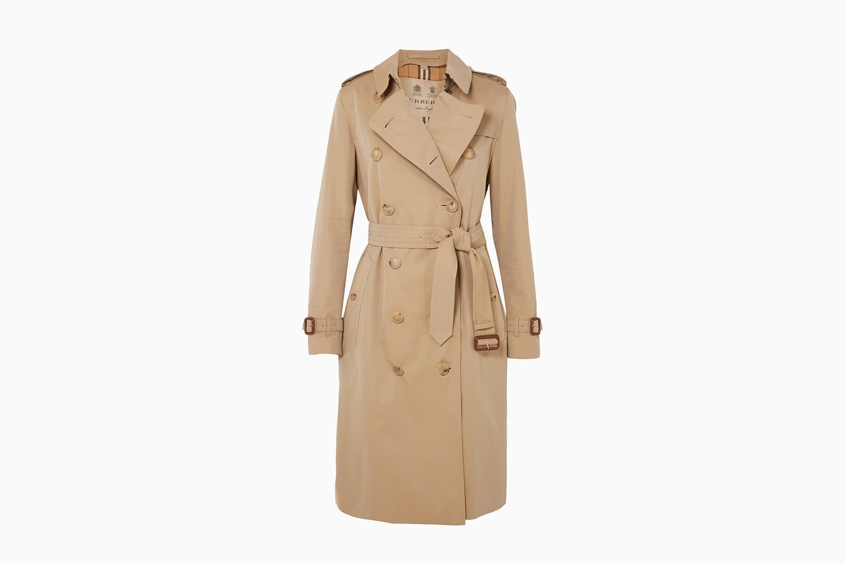 best women trench coat designer burberry - Luxe Digital