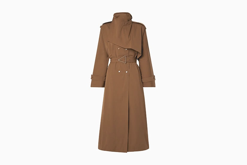 best women trench coat long bottega veneta - Luxe Digital