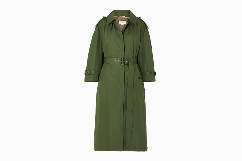 best women trench coat oversized gucci - Luxe Digital