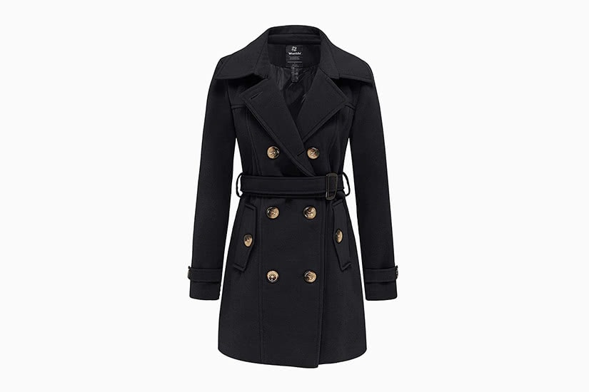 best women trench coat short wantdo - Luxe Digital