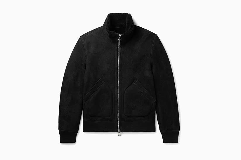 best winter coats men shearling jacket mr p review - Luxe Digital