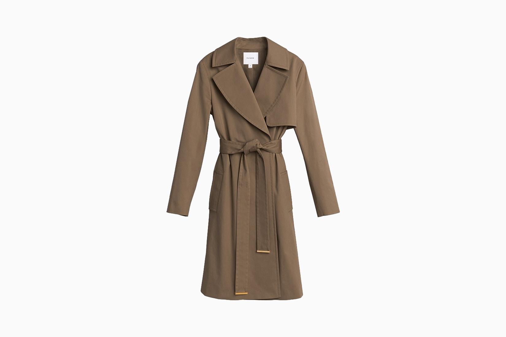 best winter coats women cuyana classic trench review - Luxe Digital