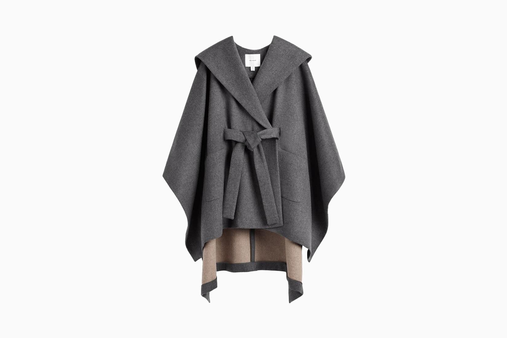 best winter coats women cuyana hooded cape review - Luxe Digital