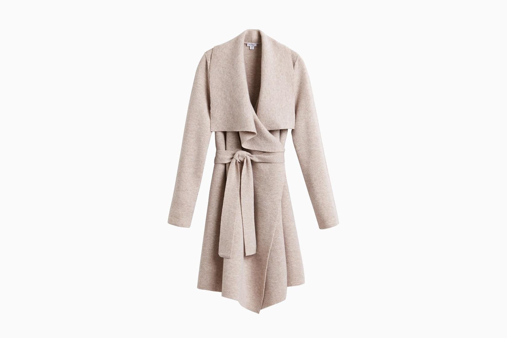 best winter coats women cuyana short wrap review - Luxe Digital