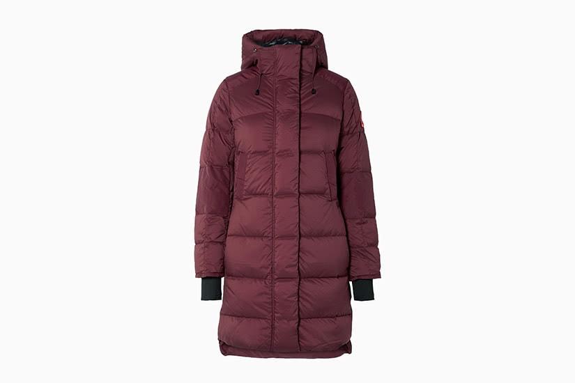 best winter coats women long down canada goose alliston review - Luxe Digital