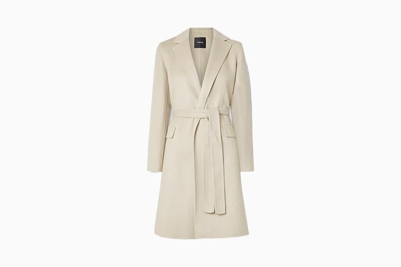 best winter coats women wool theory review - Luxe Digital