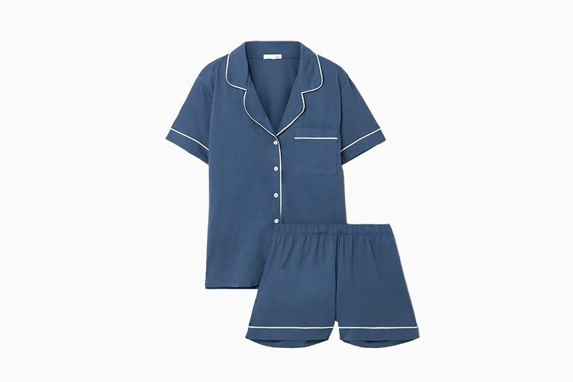 best women pajamas short skin pima review - Luxe Digital
