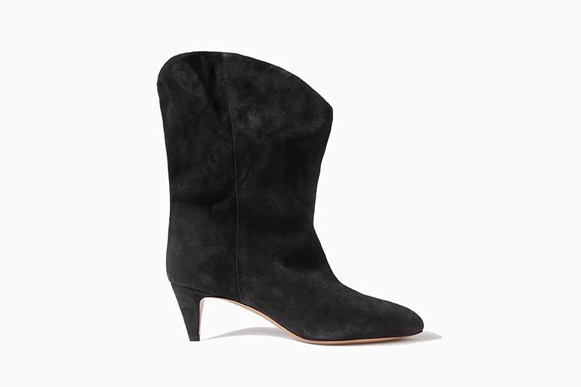 best women ankle boots black Isabel Marant Dernee review - Luxe Digital