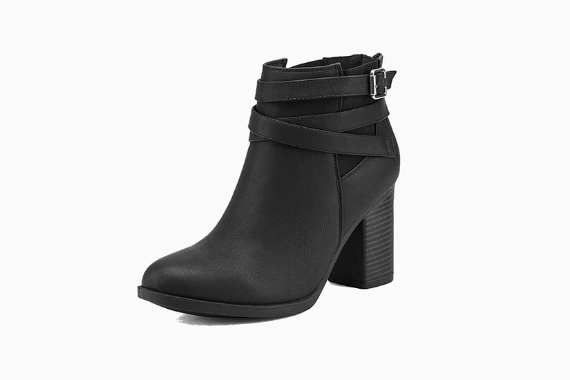 best women ankle boots wide feet TOETOS Booties review - Luxe Digital