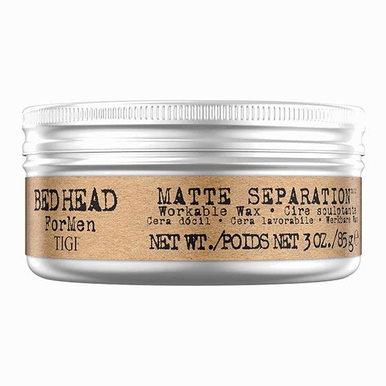 best men hair style tigi matte wax review - Luxe Digital