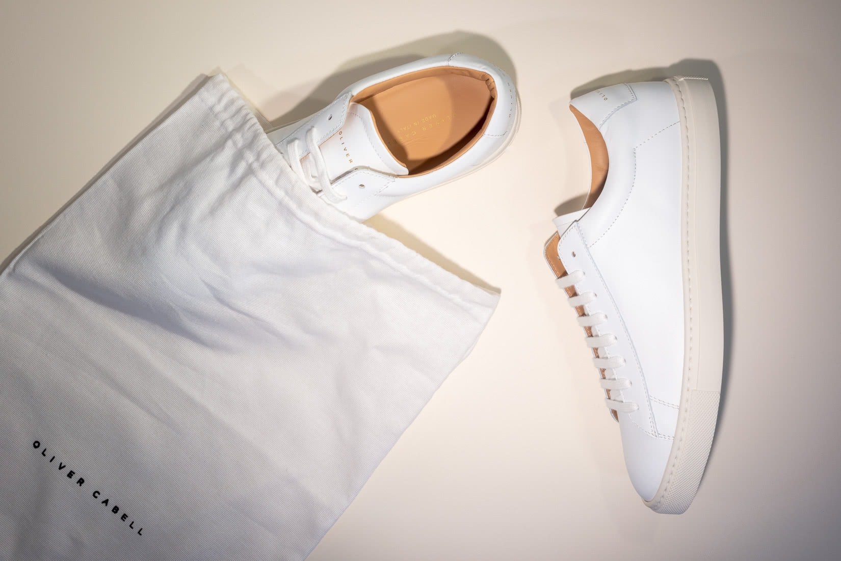 oliver cabell reseña zapatillas bajas 1 unboxing - Luxe Digital