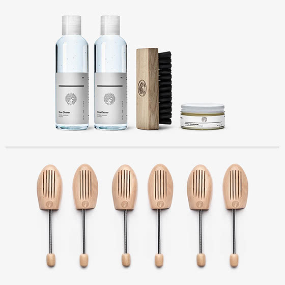 oliver cabell review sneakers cleaning kit - Luxe Digital