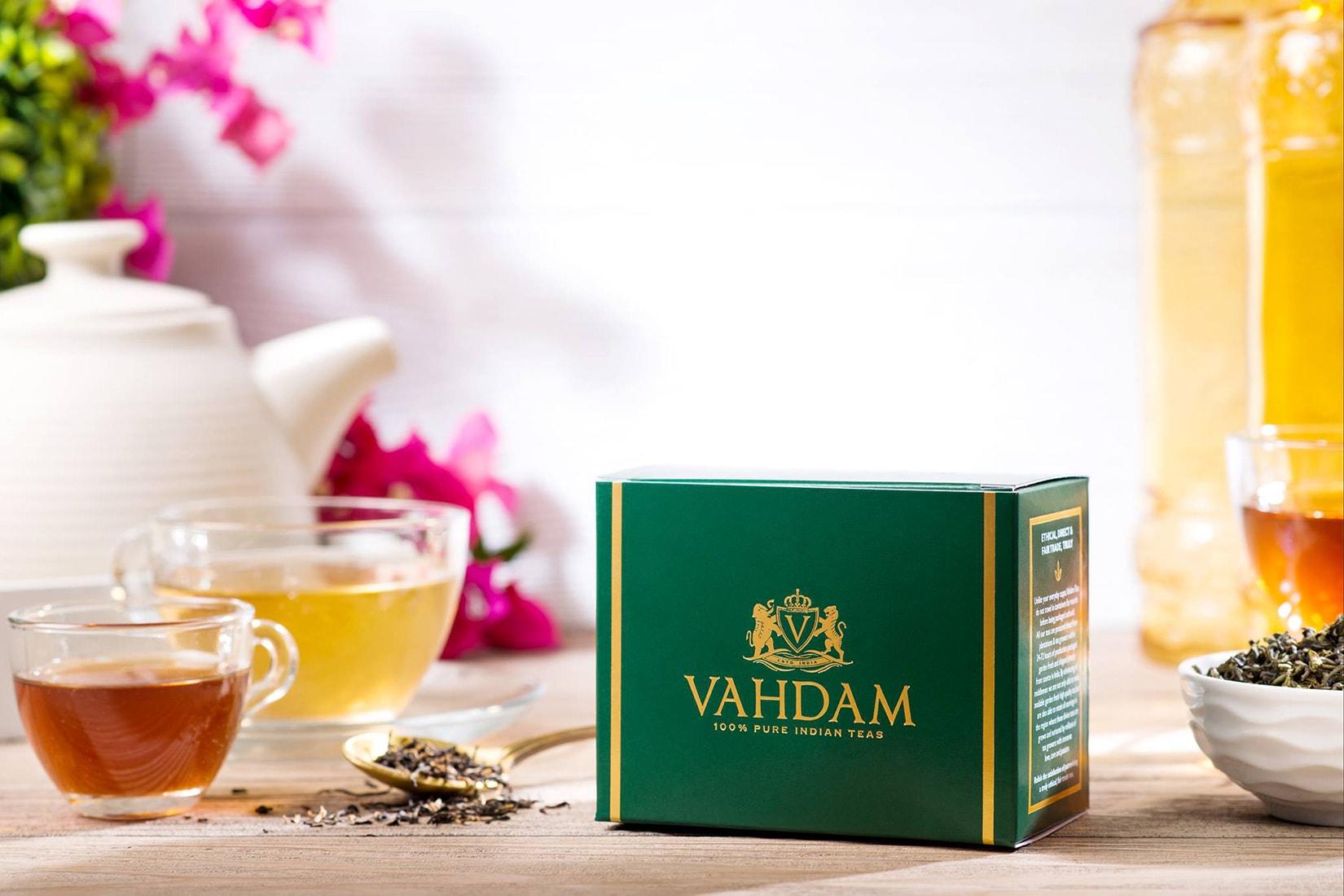 vahdam tea exclusive offer discount code coupon - Luxe Digital