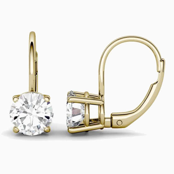 best jewelry brands charles colvard earrings review - Luxe Digital
