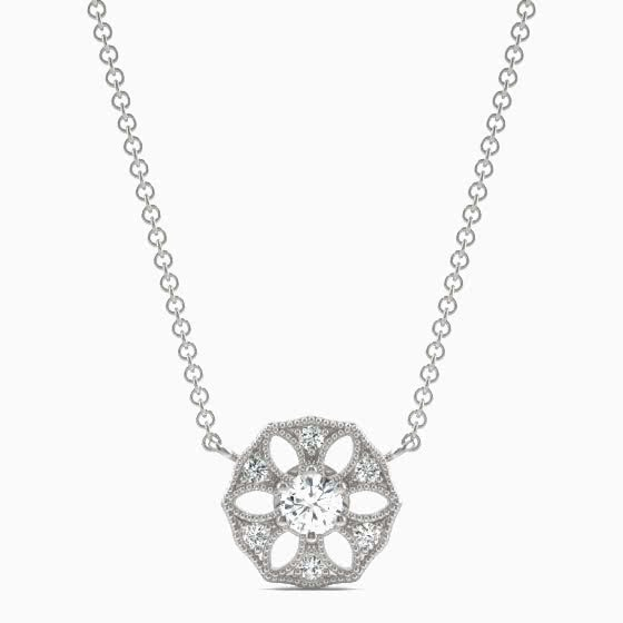 best jewelry brands charles colvard necklace review - Luxe Digital