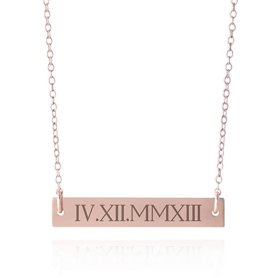 best jewelry brands sincerely silver necklace rose gold review - Luxe Digital