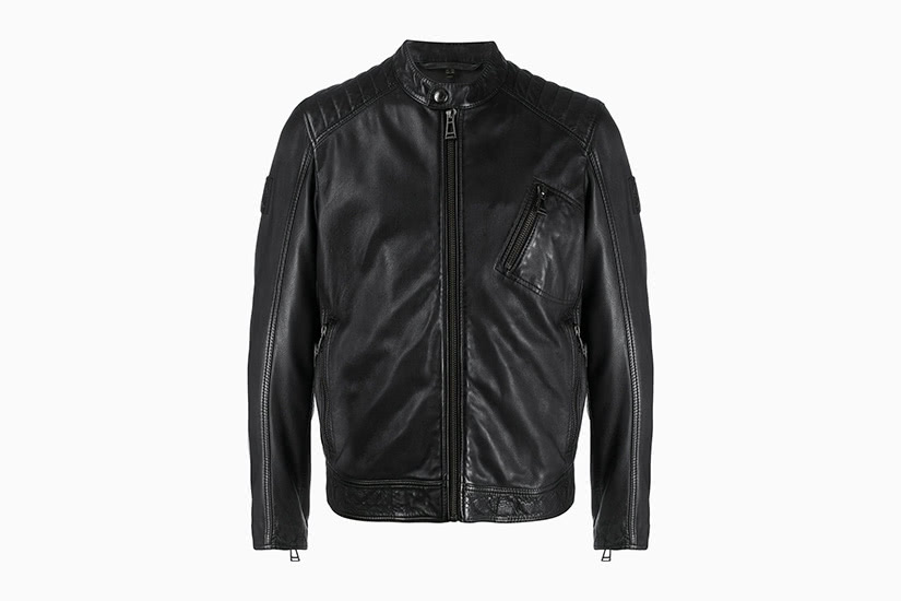 best black leather jackets men belstaff luxe digital