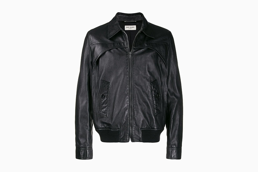 best black leather jackets men saint laurent luxe digital