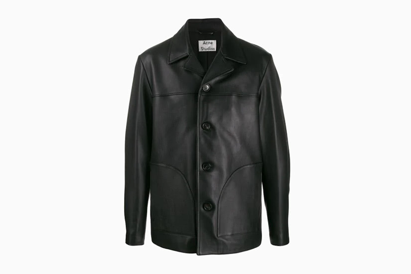 best leather jackets men acne studios luxe digital