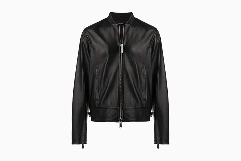best leather jackets men dsquared2 luxe digital
