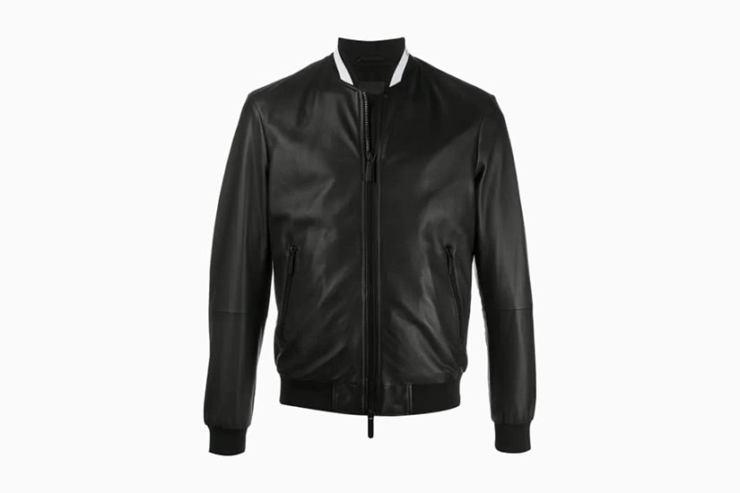 best leather jackets men emporio armani luxe digital