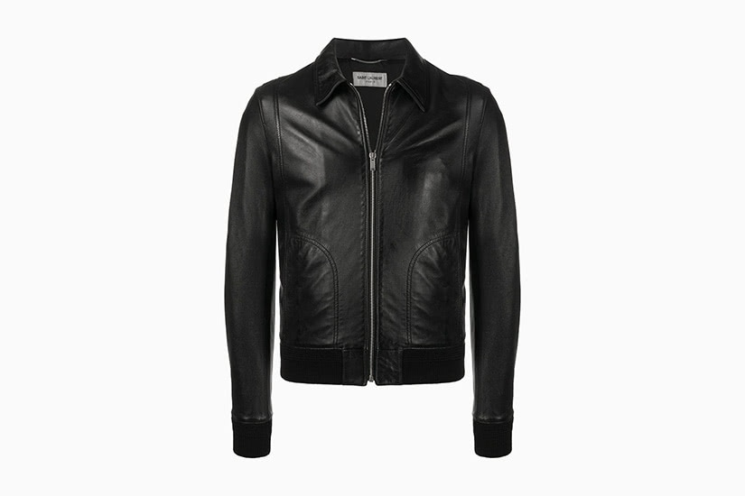 best leather jackets men saint laurent luxe digital