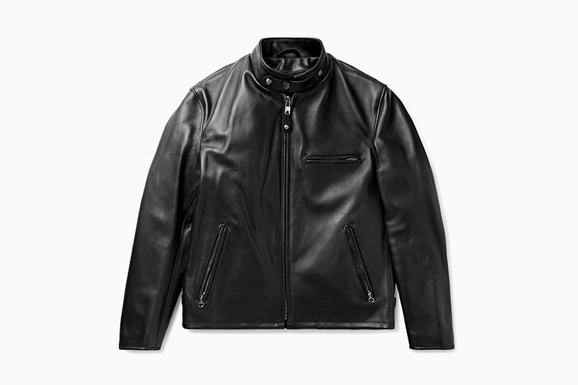 best leather jackets men schott classic racer luxe digital