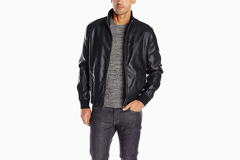 best leather jackets men tommy hilfiger luxe digital