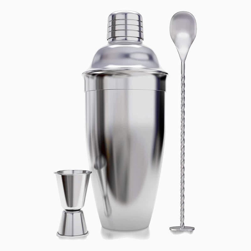 best gift men premium cocktail shaker kit - Luxe Digital