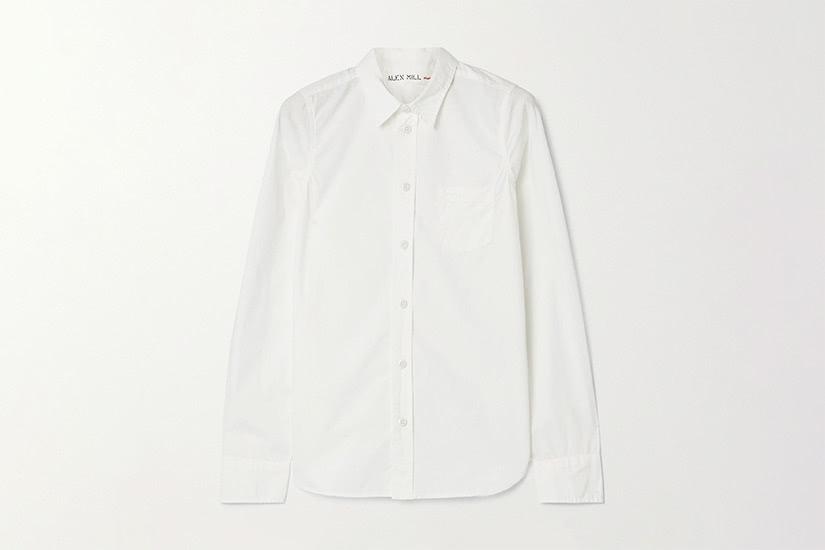 best white shirts women alex mill luxe digital