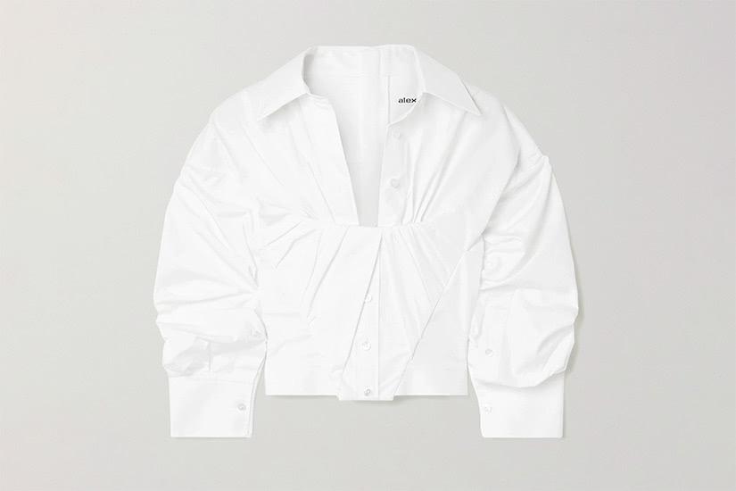 best white shirts women alexander wang luxe digital