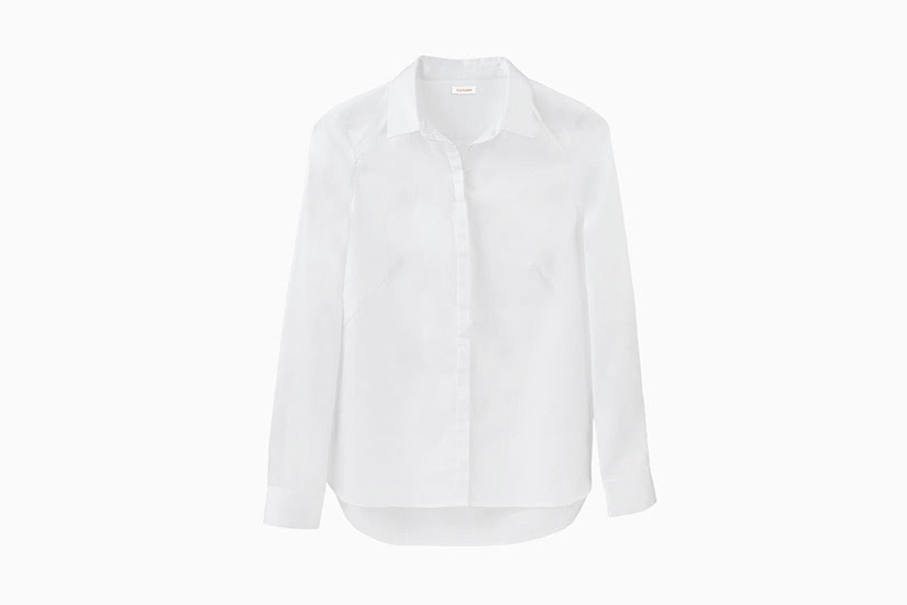best white shirts women cuyana poplin luxe digital