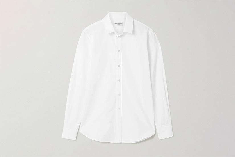best white shirts women saint laurent luxe digital