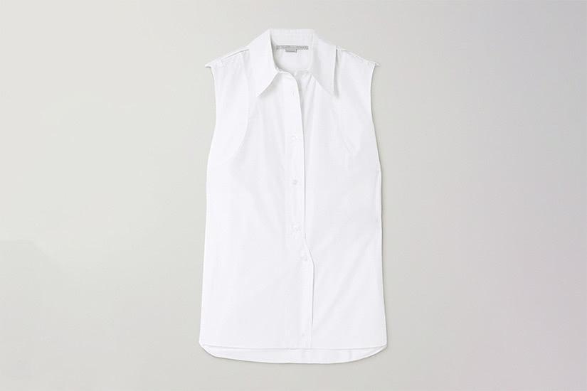 best white shirts women stella mccartney luxe digital