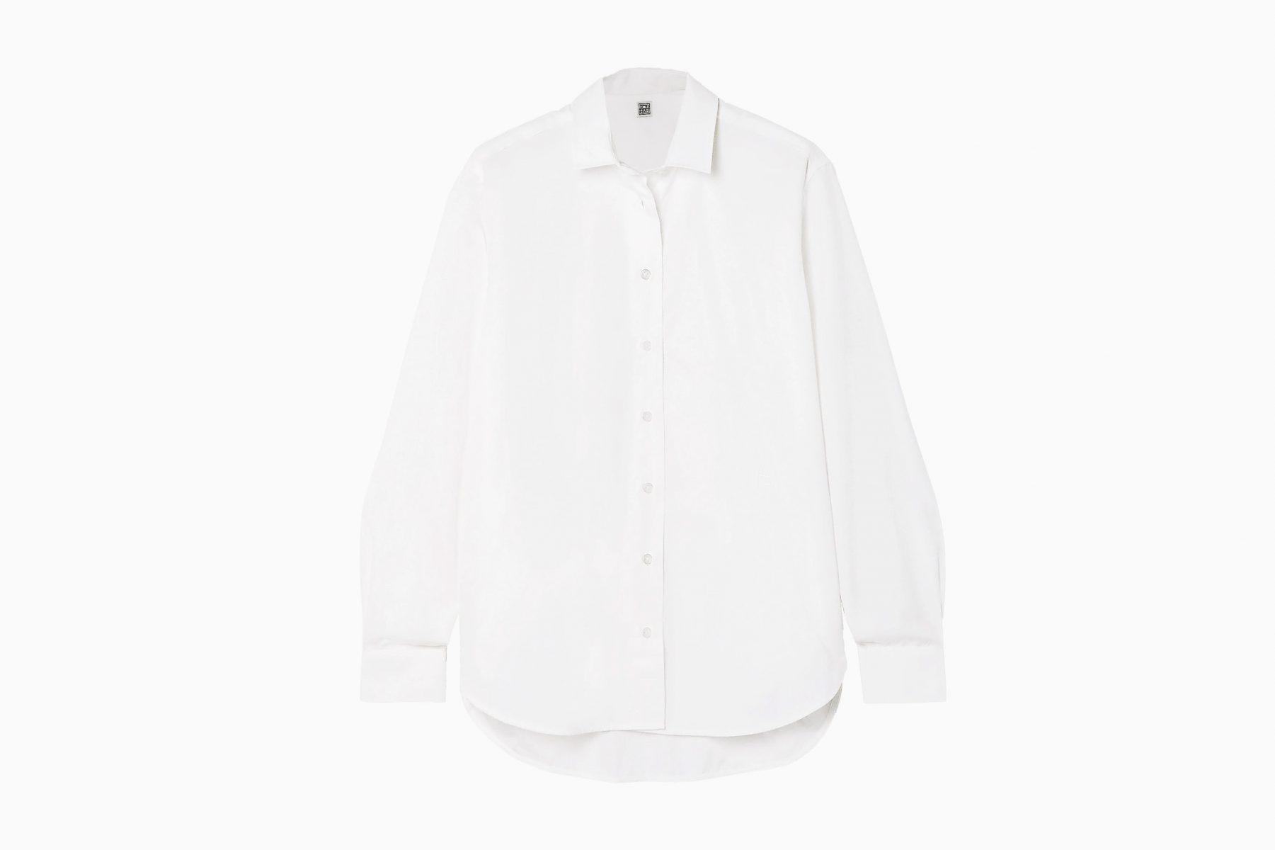 best white shirts women toteme luxe digital