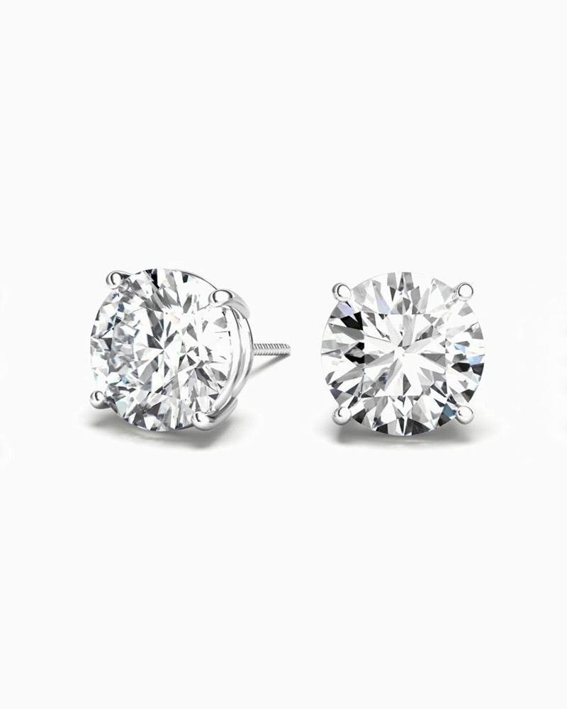 clean origin luxury gifts lab-grown diamond earrings luxe digital