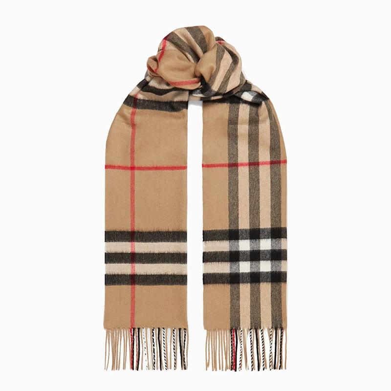 best gift women burberry scarf - Luxe Digital