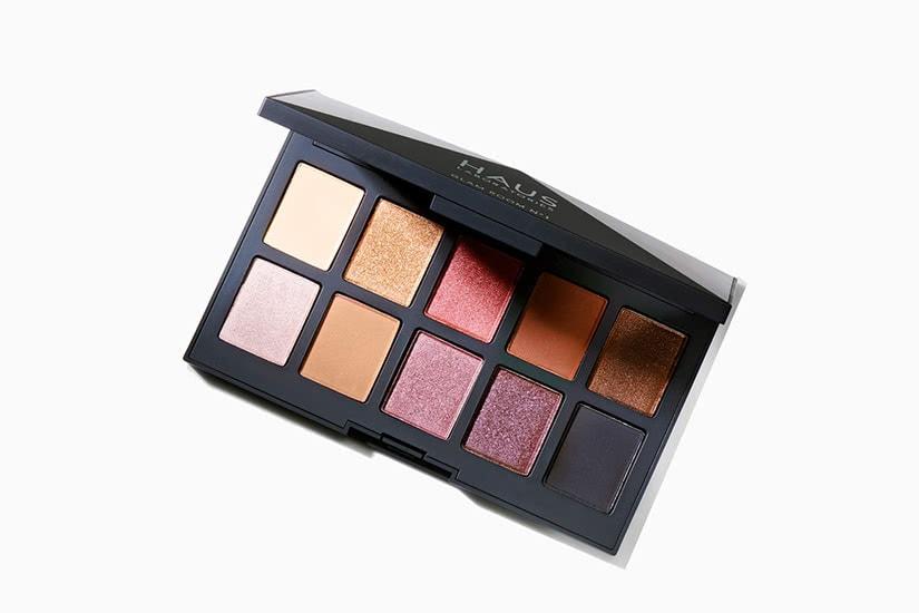best eyeshadow palette Haus dark skin review - Luxe Digital