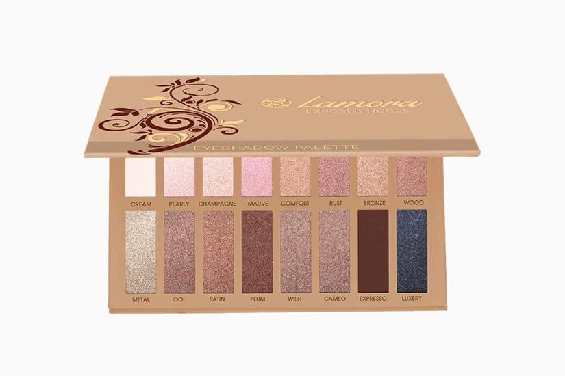 best eyeshadow palette Lamora cool skin review - Luxe Digital