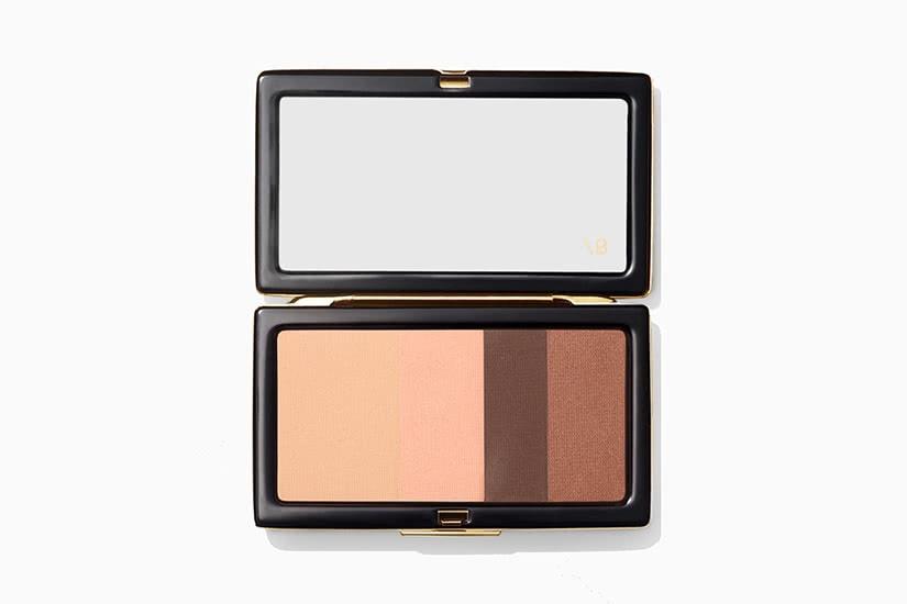 best eyeshadow palette Victoria Beckham smoky review - Luxe Digital