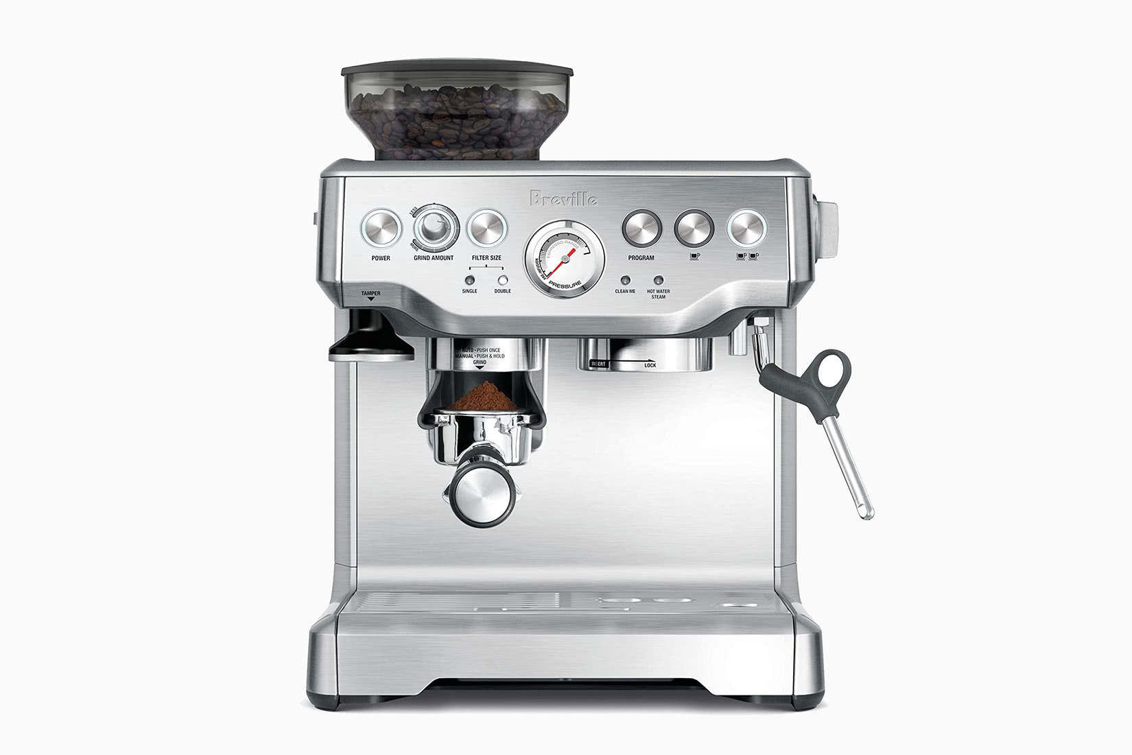 best espresso machine expensive breville barista express review - Luxe Digital