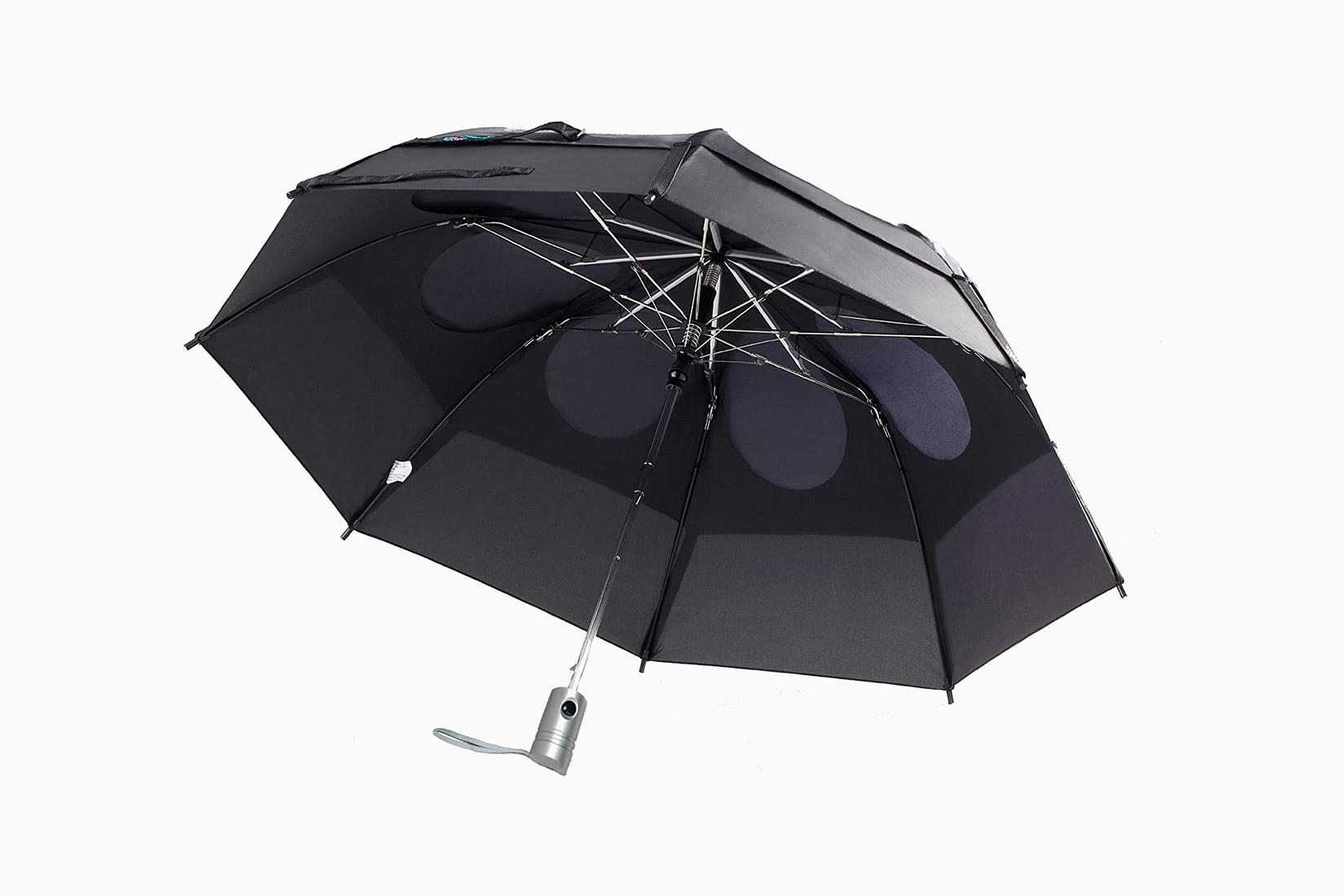 best umbrellas gustbuster luxe digital