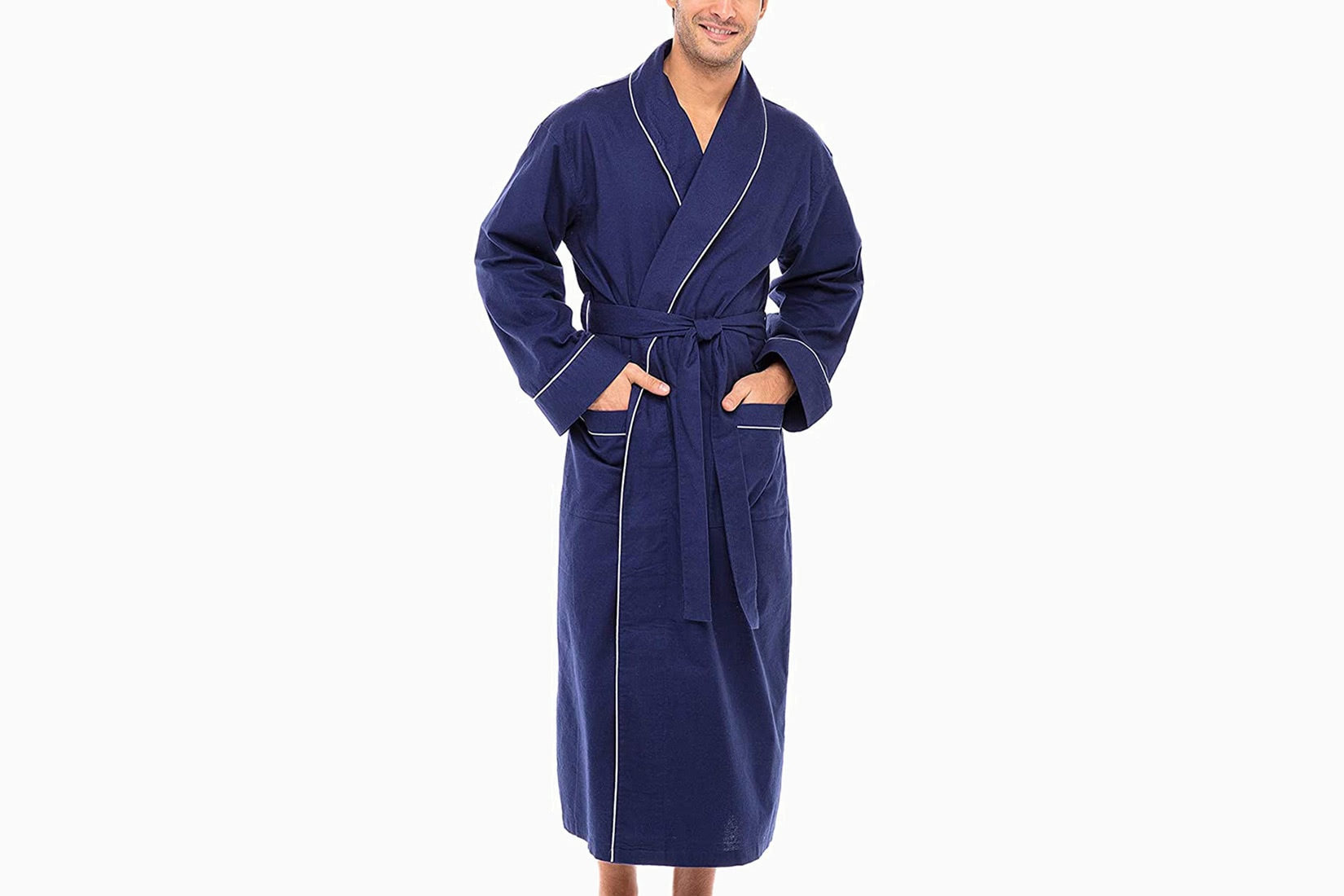best robes men alexander del rossa flannel robe luxe digital