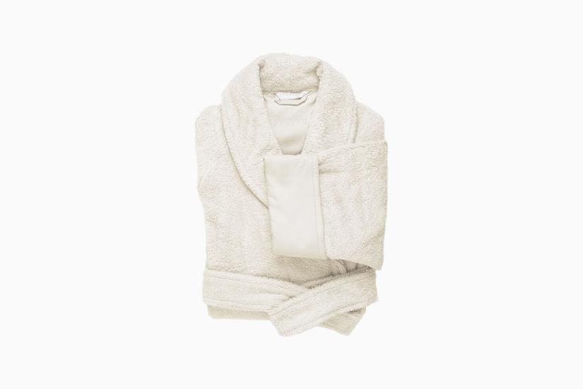 best robes men frette unito shawl collar bathrobe luxe digital