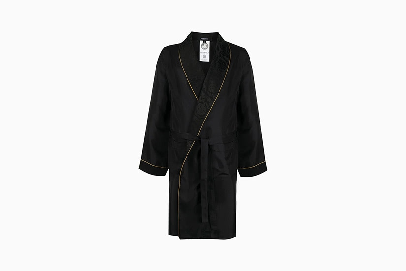 best robes men versace silk robe luxe digital
