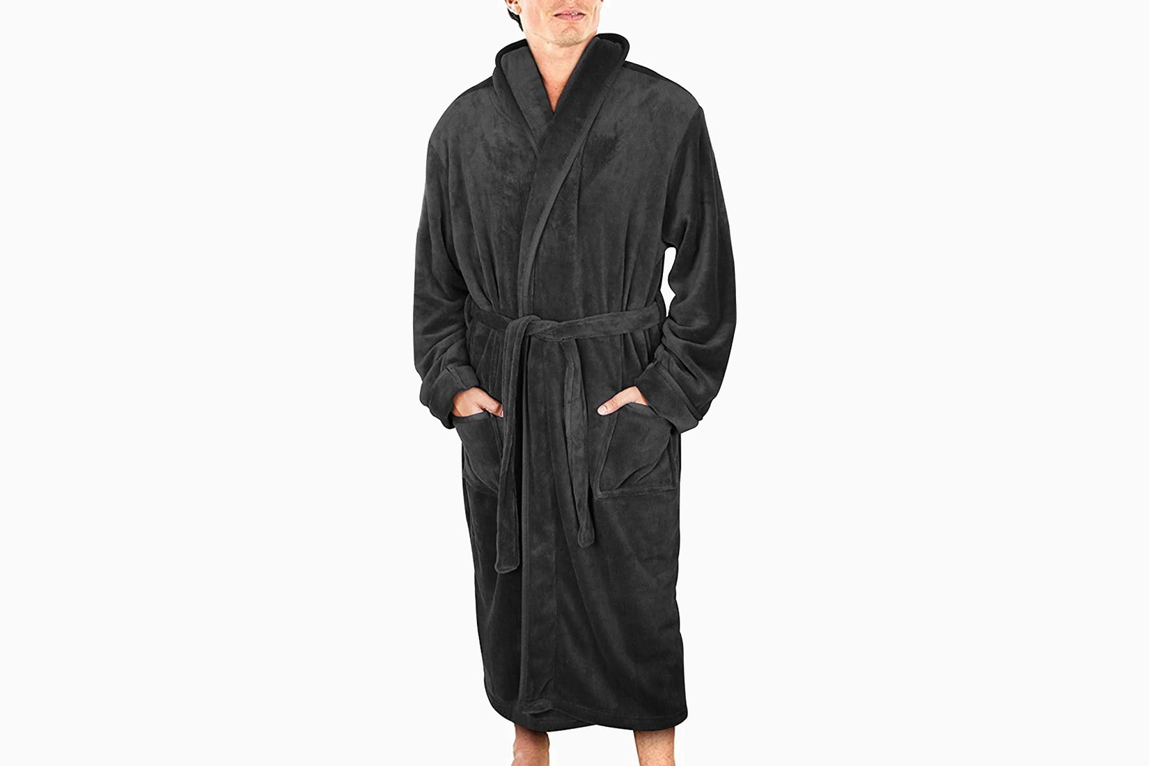best robes men ny threads fleece robe luxe digital