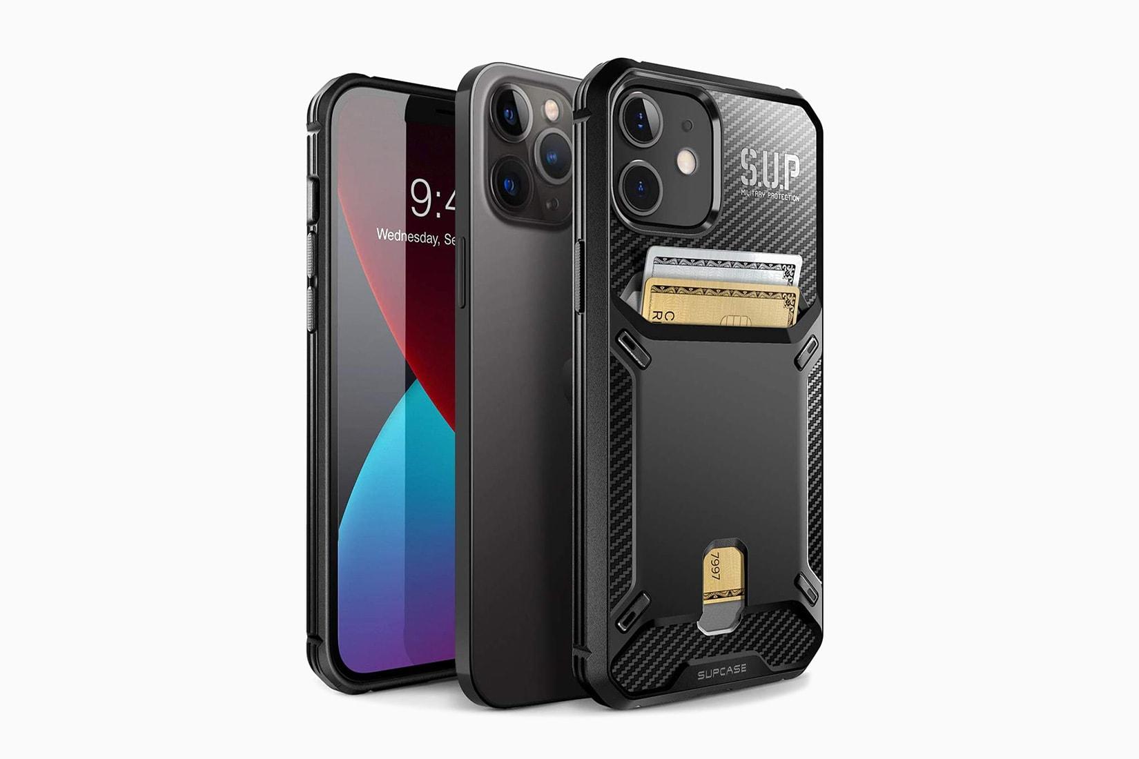 best iphone case wallet supcase vault - Luxe Digital