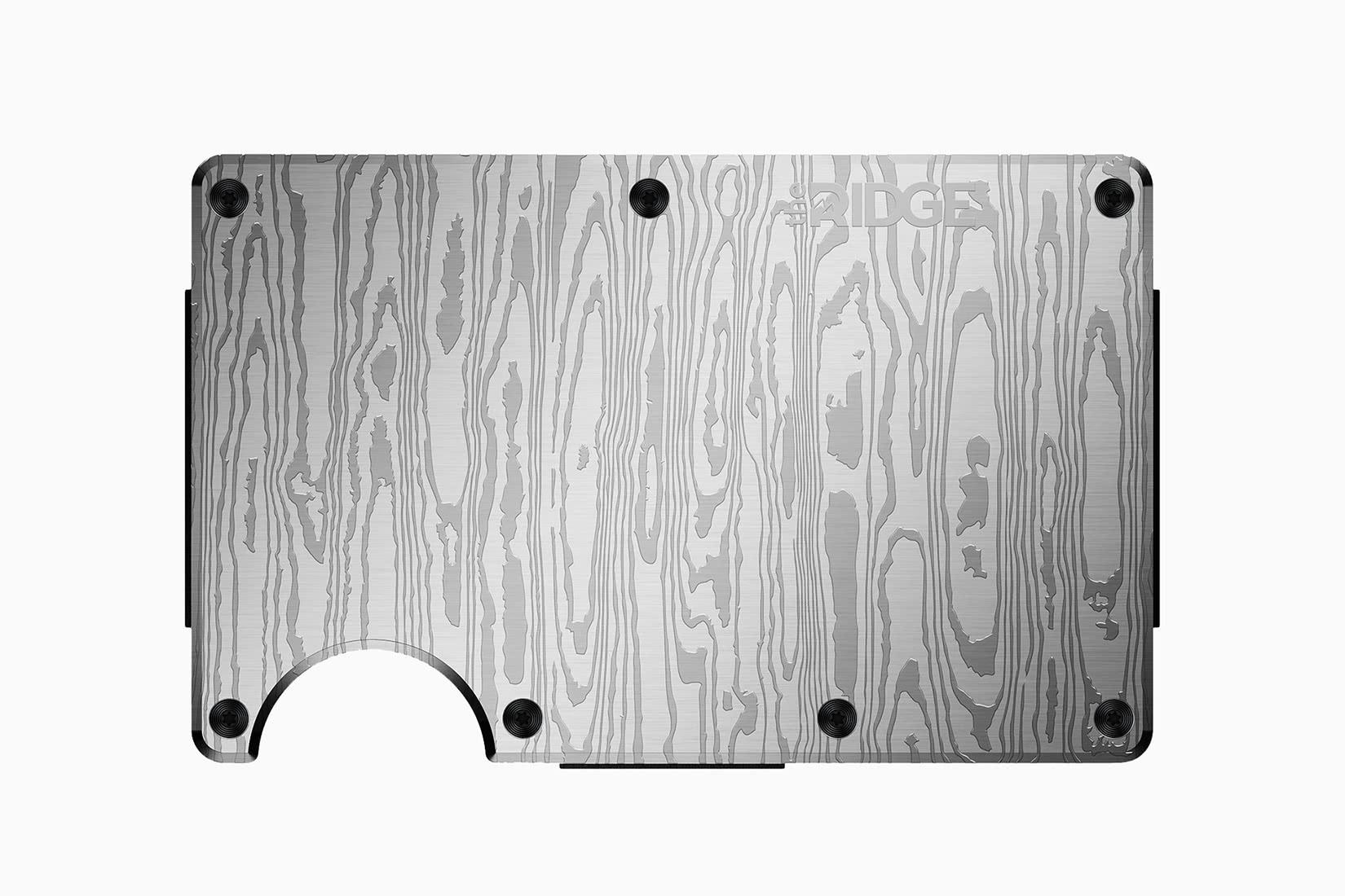 best minimalist wallet men ridge - Luxe Digital