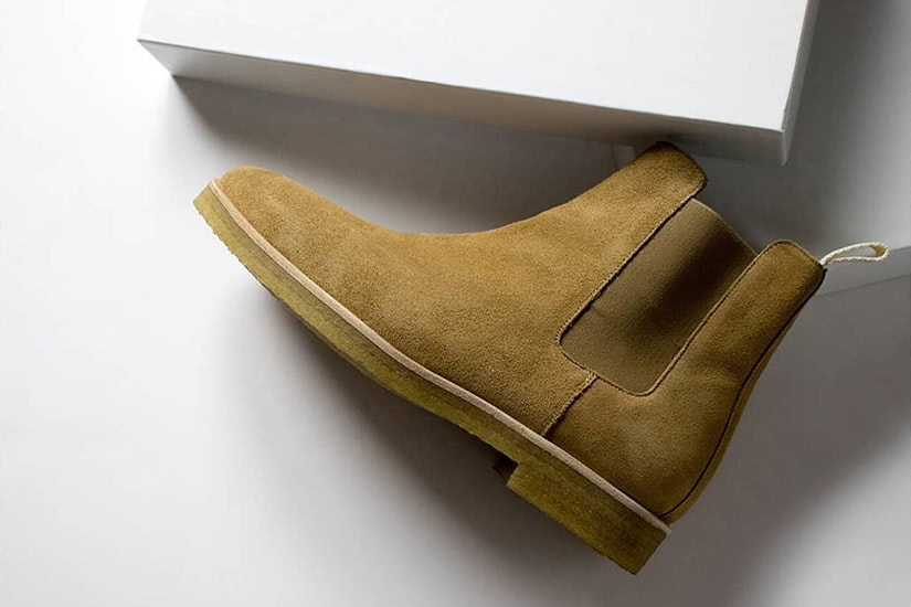how to clean suede shoes oliver cabell chelsea - Luxe Digital